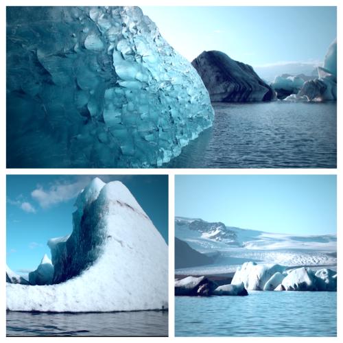 Iceland glaciers by Navi Whitten