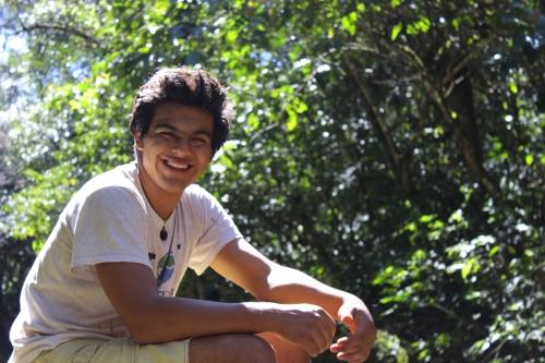 Adrian Fernandez Jauregui, '15, Bolivian.
